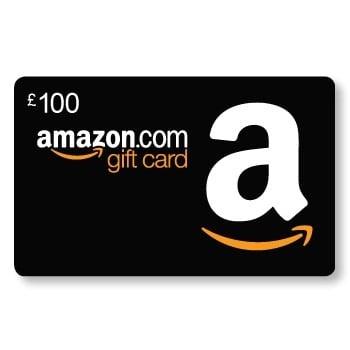 Win a £100 voucher to spend online at Amazon
