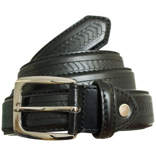 Carabou Kingsize 5028 Leather Belt Black