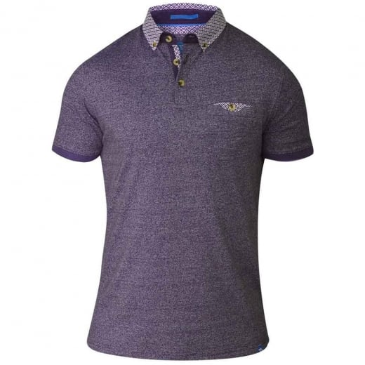 D555 by Duke Kingsize Diego Polo Purple Twist