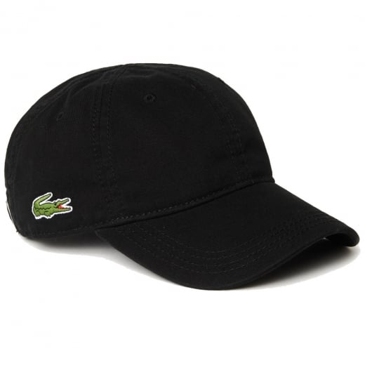 Lacoste RK9811 Gabardine Cap Black