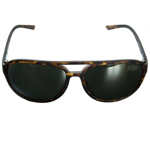 Superdry Motor-X Sunglasses Rubberised Brown Tortoise