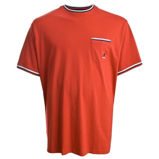 Kangol Kingsize Waldorf T-Shirt True Red