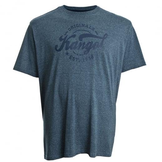Kangol Kingsize Herst Plus T-Shirt Navy