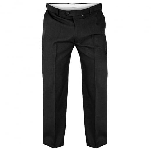 D555 Kingsize Max Stretch Trousers Black