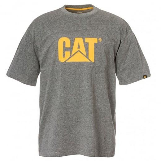 Caterpillar Kingsize Trademark Logo T-Shirt Dark Heather Grey
