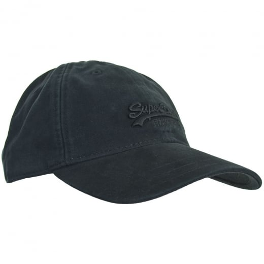 Superdry Orange Label Solo Cap Black