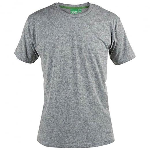 D555 Kingsize Flyers T-Shirt Grey Marl