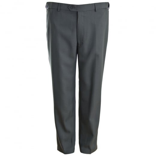 Carabou Kingsize GEP Expand-A-Band Trousers Steel