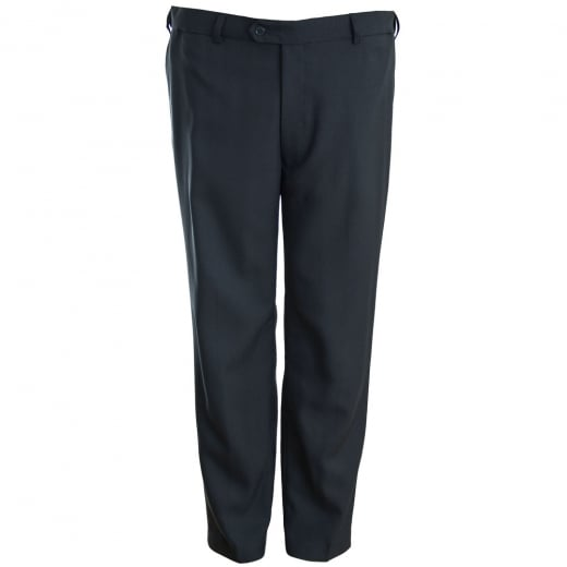 Carabou Kingsize GEP Expand-A-Band Trousers Navy