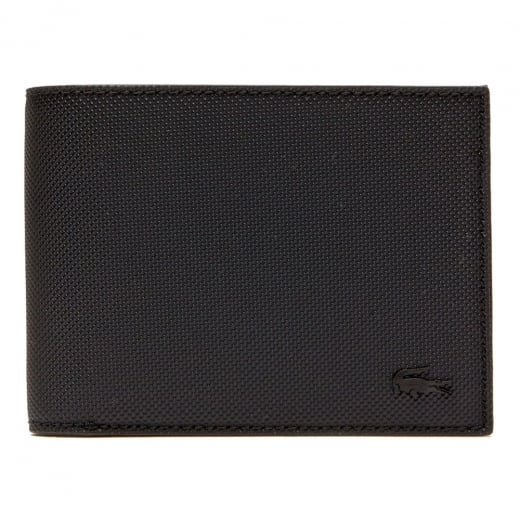 Lacoste NH2308 Classic Pique Wallet Black