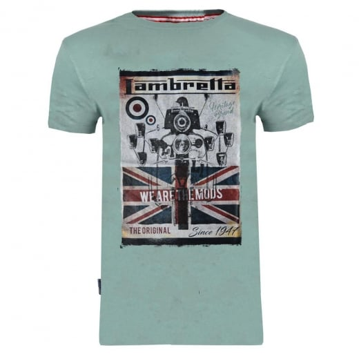 Lambretta We Are The Mods Since 47 T-Shirt Sage