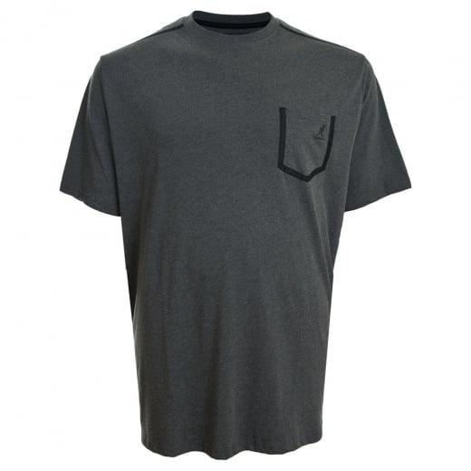 Kangol Kingsize Sable T-Shirt Charcoal Marl