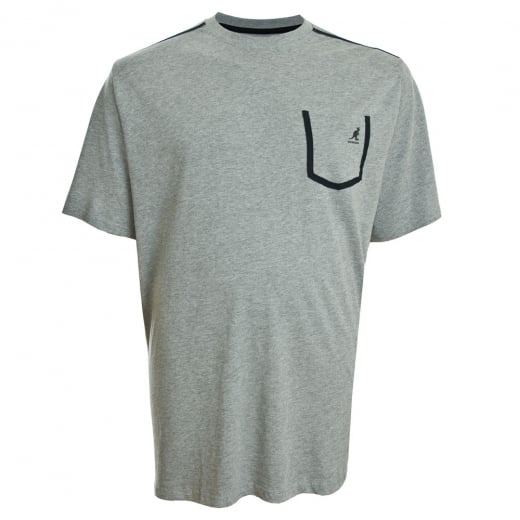 Kangol Kingsize Sable T-Shirt Grey Marl