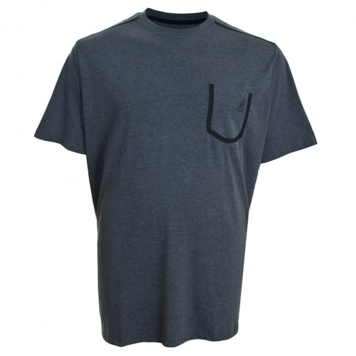 Kangol Kingsize Sable T-Shirt Navy Marl
