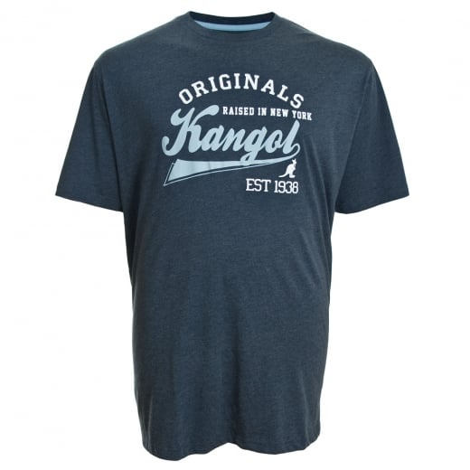 Kangol Kingsize Cody T-Shirt Navy Marl