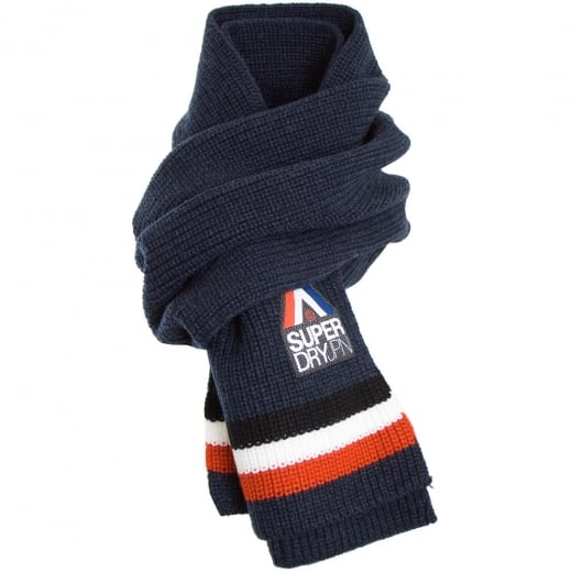 Superdry Racer Scarf Navy