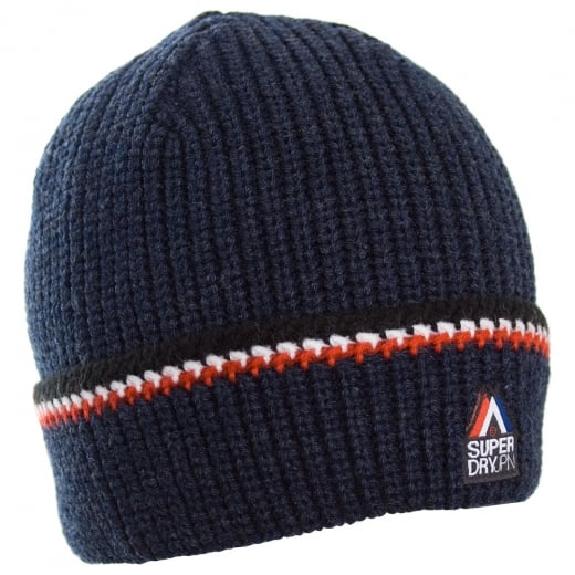 Superdry Racer Beanie Navy