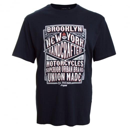 Espionage Kingsize Brooklyn T-Shirt Navy