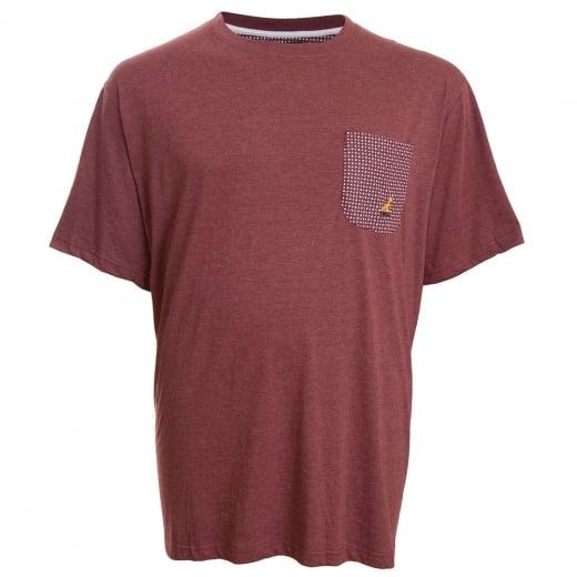 Kangol Kingsize Walle T-Shirt Mahogany