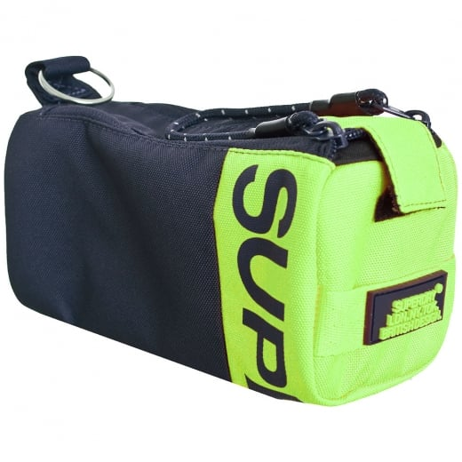 Superdry Kewer 2 Zip Pencil Case Navy/Lime