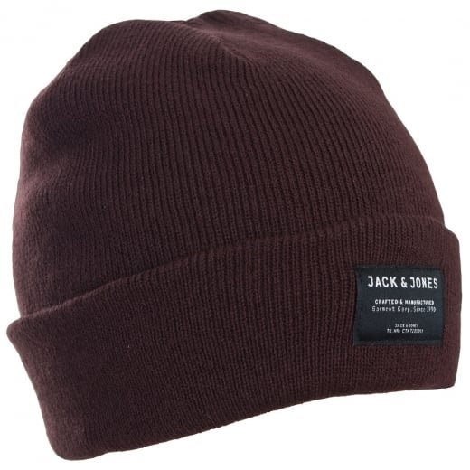 Jack and Jones DNA Beanie Fudge