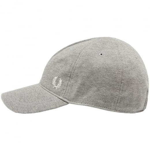Fred Perry HW3650 Pique Classic Cap Steel Marl