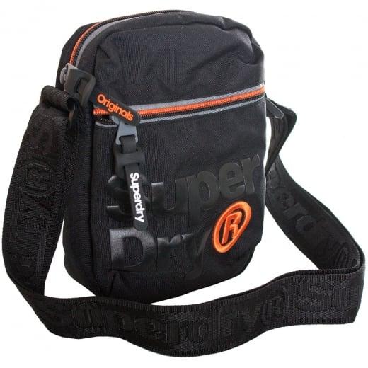 Superdry Lineman Super Sidebag Black