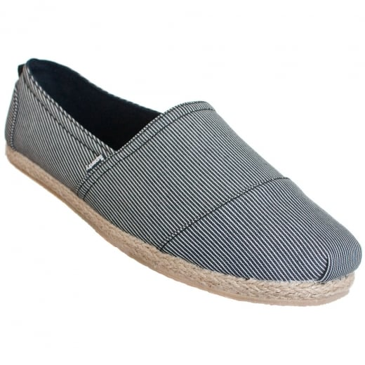 Superdry Jetstream Espadrille Fine Stripe Navy