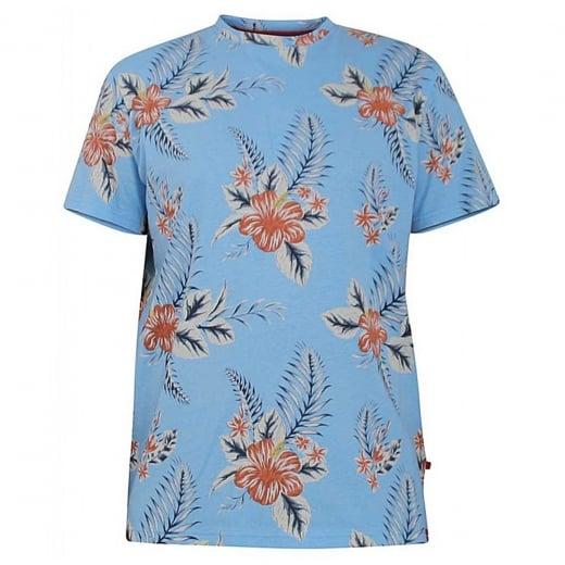 D555 Kingsize Castro T-Shirt Blue