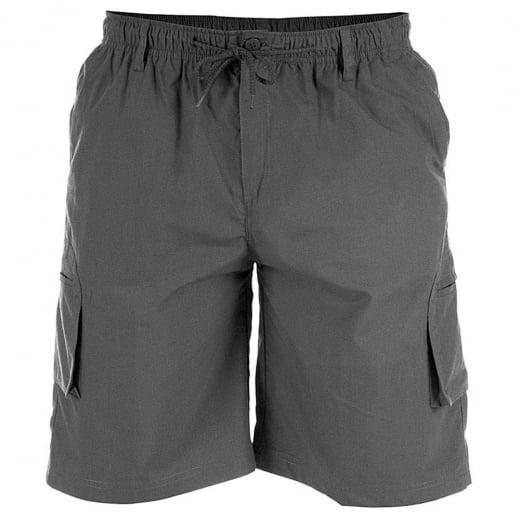 D555 Kingsize Nick Cargo Shorts Dark Grey