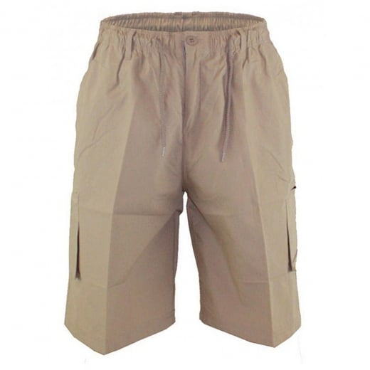 D555 Kingsize Nick Cargo Shorts Sand