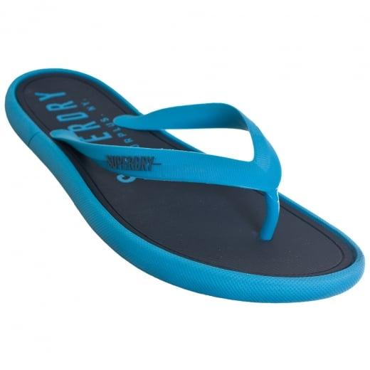Superdry Surplus Goods Flip Flops Navy/Blue