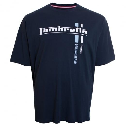 Lambretta Kingsize Original T-Shirt Navy
