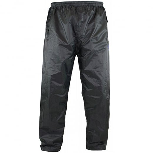 D555 Kingsize Elba Packaway Over Trouser Black