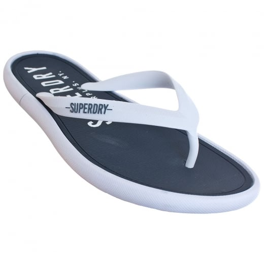 Superdry Surplus Goods Flip Flops Navy/White