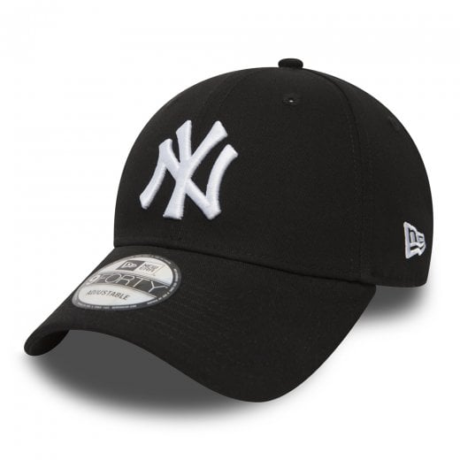 New Era NY Yankees Essential 9Forty Cap Black/White