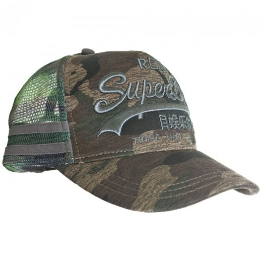 Superdry Vintage Logo Edition Trucker Cap Camo