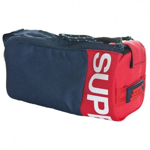 Superdry Kewer Pencil Case Navy/Red