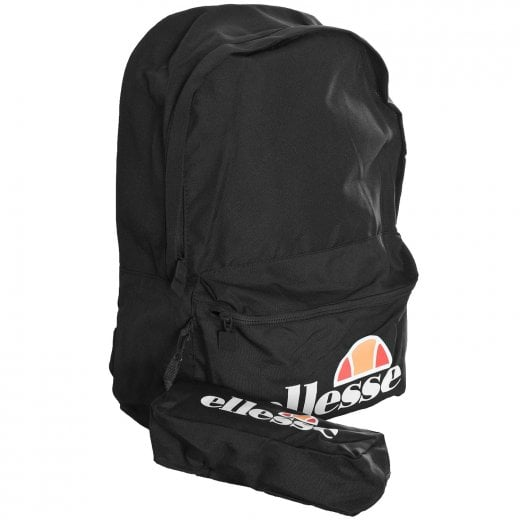 Ellesse Rolby Backpack & Pencil Case Black