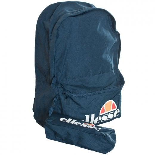 Ellesse Rolby Backpack & Pencil Case Navy