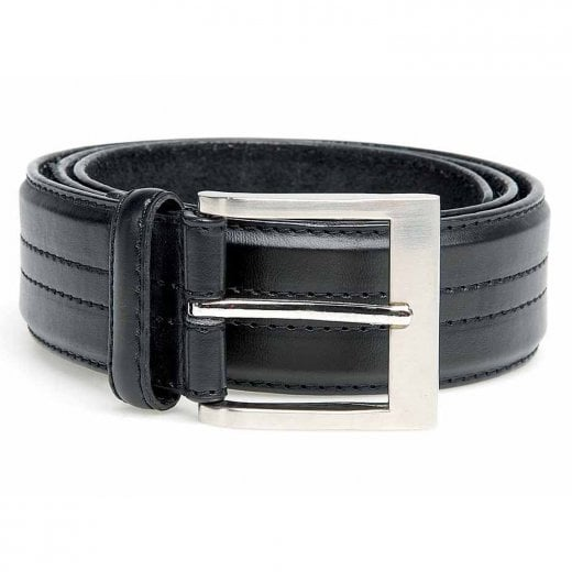 D555 Kingsize Harley Belt Black