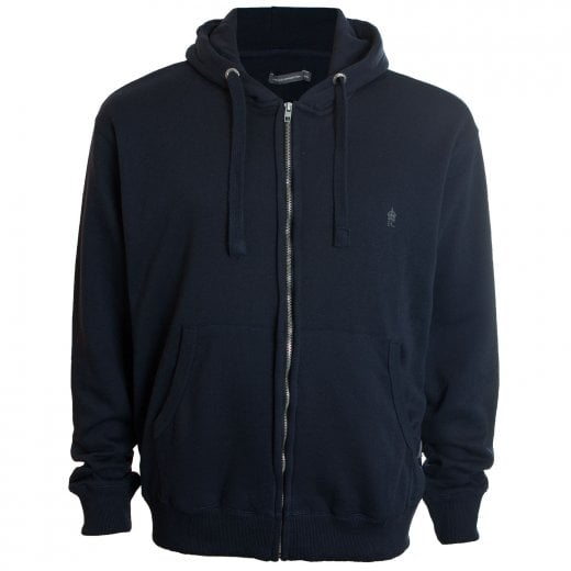 French Connection Kingsize 57KDA Zip Hoodie Marine