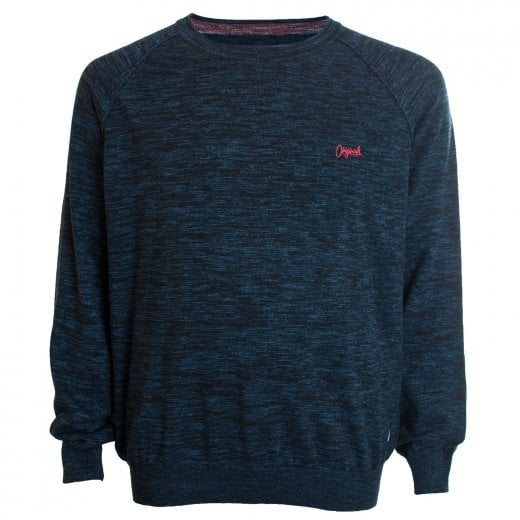 Jack & Jones Plus Size Originals Homework Knitwear Total Eclipse