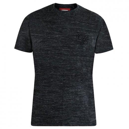 D555 Kingsize Chalmer T-Shirt Black Space Dye