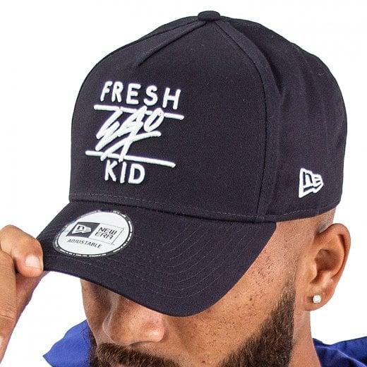 Fresh Ego Kid Cotton Trucker Cap Navy
