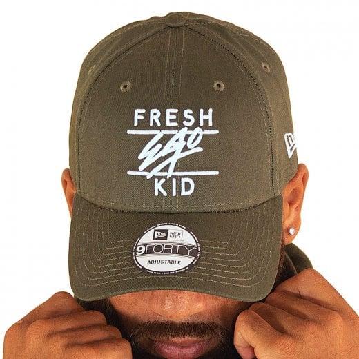Fresh Ego Kid Polo Cap Olive