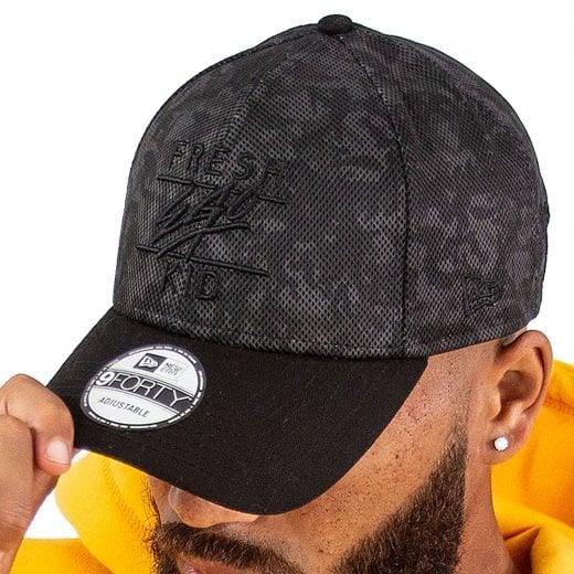 Fresh Ego Kid Mesh Polo Cap Black Camo