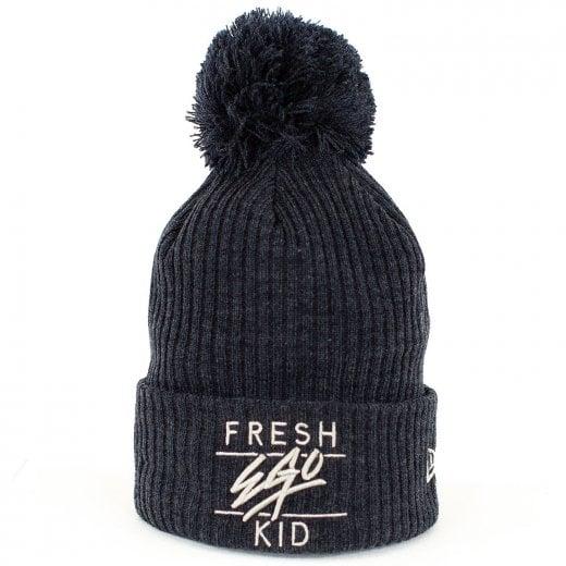 Fresh Ego Kid Bobble Hat Navy
