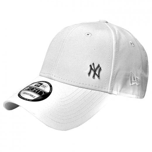 New Era MLB Flawless Logo 9Forty Cap White
