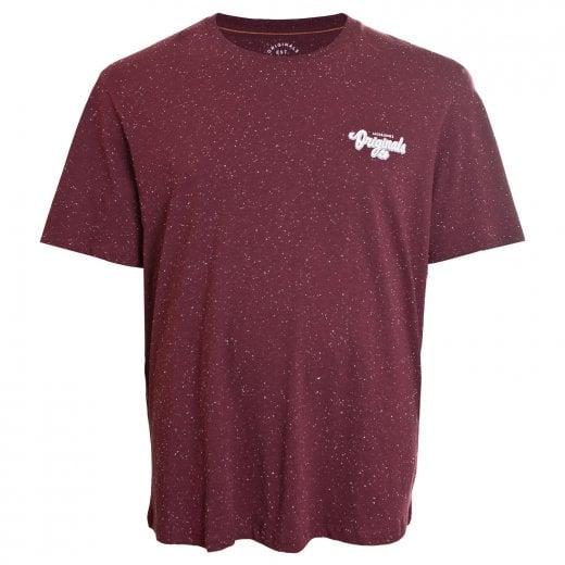Jack & Jones Plus Size Originals Haltsmall T-Shirt Port Royale
